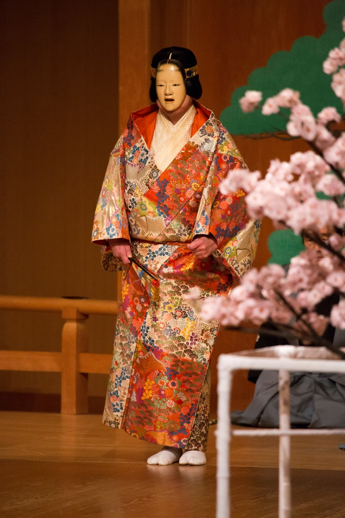 Noh and Kyogen performance under the theme of SAKURA(Cherry blossoms)