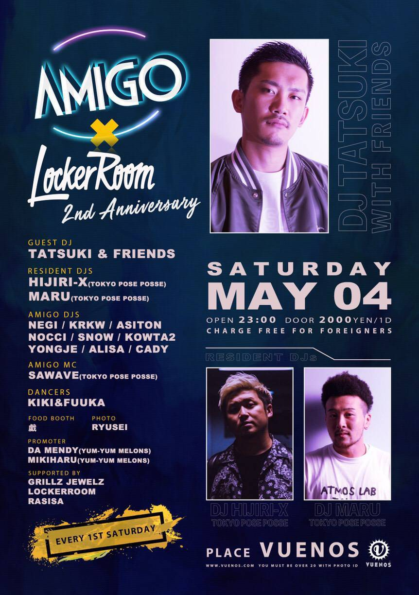AMIGO × LockerRoom 2nd ANNIVERSARY