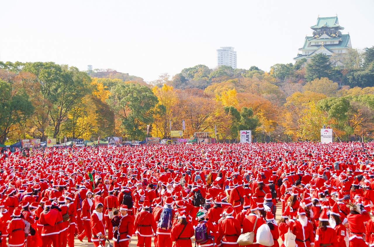 Osaka Great Santa Run 2019