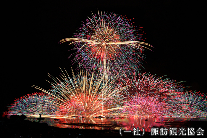 Fireworks Festival(Japan Cultural Expo officially approved/ Watch National New Fireworks Games by recreational vehicles)