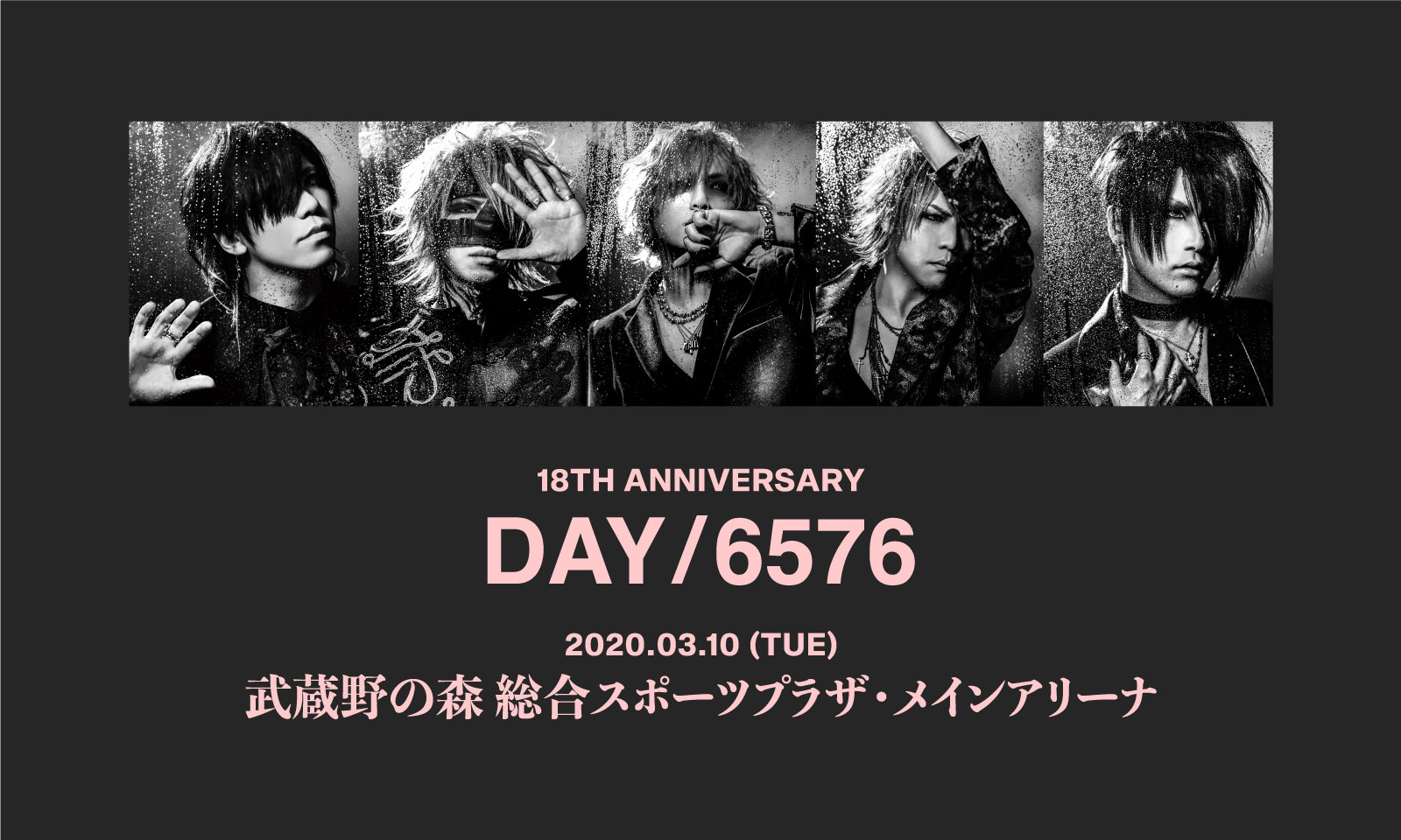 the GazettE 18TH ANNIVERSARY DAY/6576
